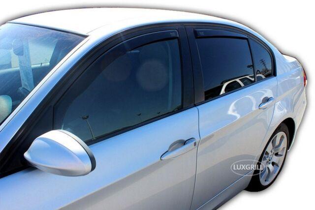 DBM11127 BMW E90 3er 4 türer ab 2005 HEKO Windabweiser dunkel 4-tlg Satz