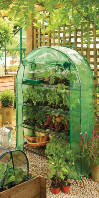 GARDMAND EXTRA WIDE GROW-HOUSE ARC WALK IN REINFORCED GREENHOUSE + COVER 08919