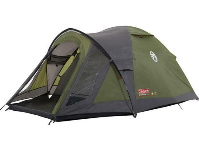Coleman camping tents ebay coleman darwin 3 plus man person dome camping tent sciox Gallery