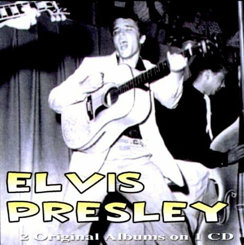 ELVIS PRESLEY 2 EARLY ORIGINAL ALBUMS ON 1 CD NEW AND FACTORY SEALED
