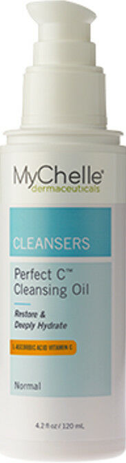 MyChelle Dermaceuticals - Perfect C Cleansing Oil 4.2 fl oz Giovanni D:Tox System Facial Cleansing Towelettes - 30 Count-Pack of 2