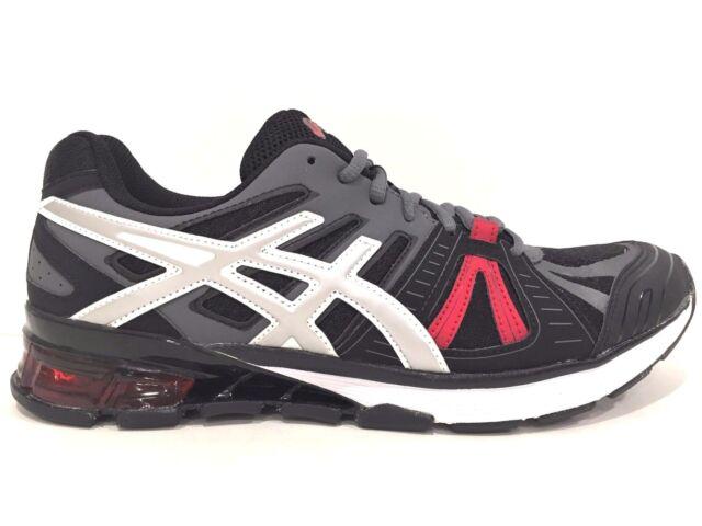 ASICS Men's Gel-Defiant 2 Training Shoe, Onyx/Silver/Red