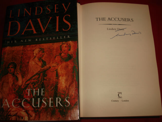 Lindsey Davis - The Accusers - Signed - 1st/1st,HARDBACK 2003