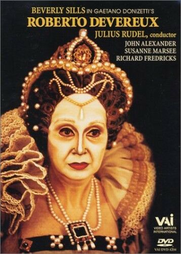 Donizetti: Roberto Devereux (2001, DVD NEW)