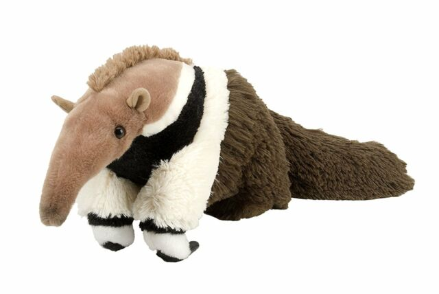 "NEW WILD REPUBLIC CUDDLEKINS 12"" ANTEATER CUDDLY SOFT TOY TEDDY"
