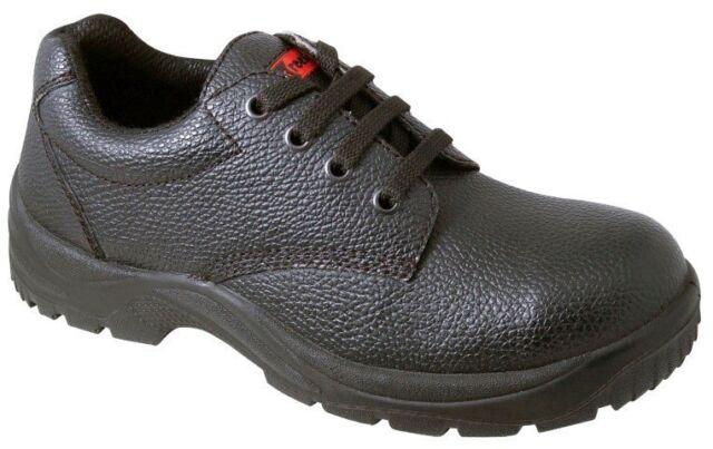 Blackrock Gibson Steel Toe Cap Lightweight Safety Work Shoe Black Shoes UK Sizes