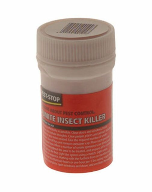 Pest-Stop Fumite Insect Killer 3.5g Kills Flies Bugs Ant Cockroaches Bedbugs