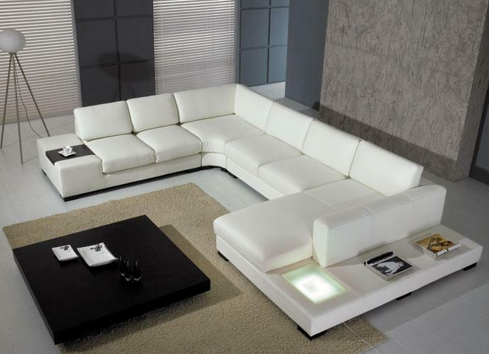 Picture 1 of 6 ... : leather sectional sofa set - Sectionals, Sofas & Couches
