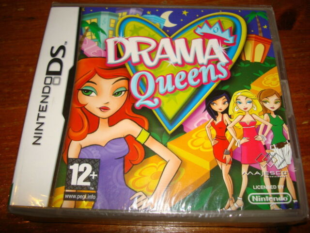 DRAMA QUEENS ** NEW & SEALED**  Nintendo Ds Game