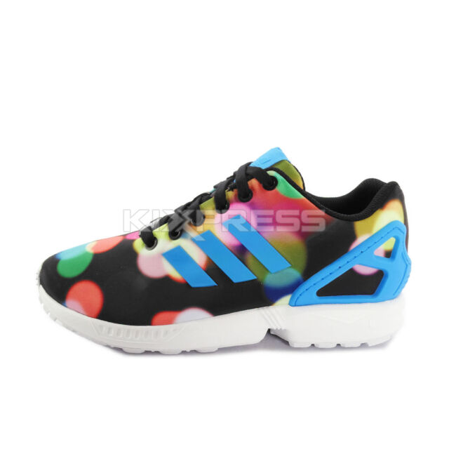 Adidas Sale  Adidas Originals Zx Flux Light Print Black Mens Sneakers Running Shoes B23984