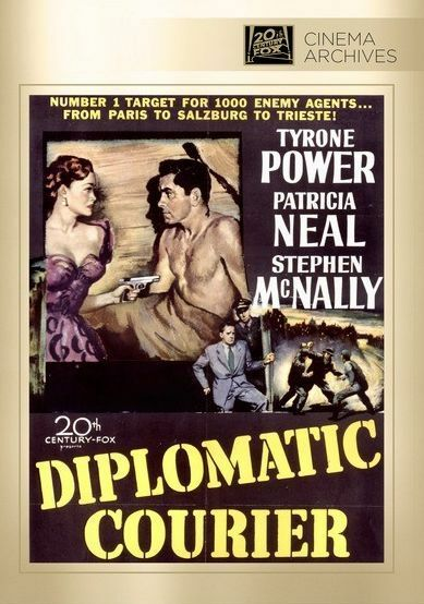 Diplomatic Courier - Region Free DVD - Sealed