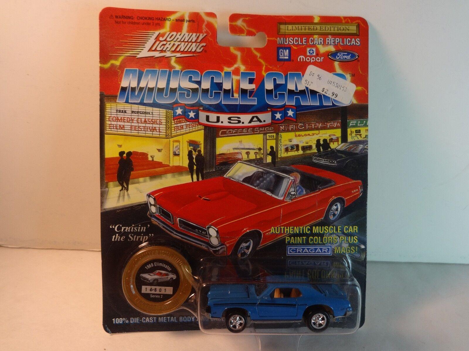 1969 Eliminator Mercury Blur Johnny Lightning Limited Edition 1 64th ...