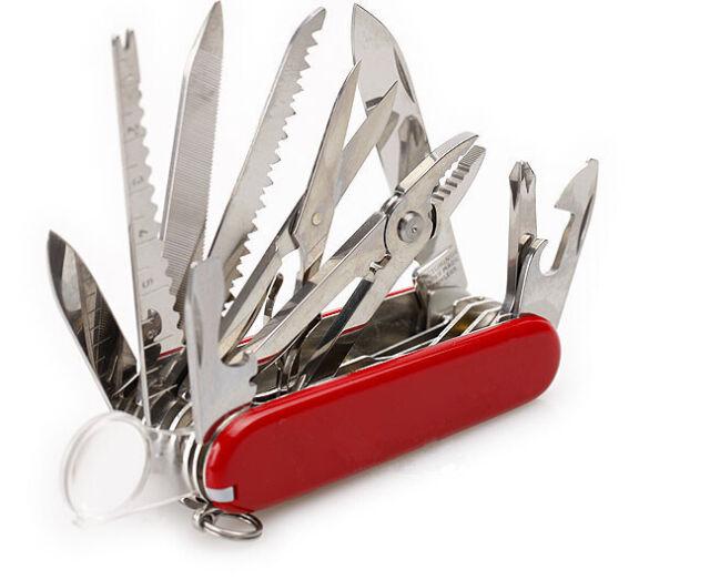 Swiss Army Pocket Knife Folding Multi Use Tool Camping