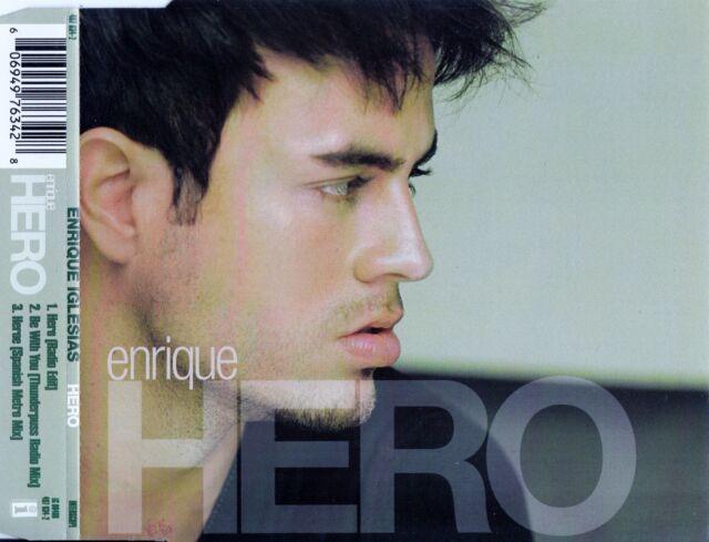 ENRIQUE IGLESIAS : HERO / 3 TRACK-CD - TOP-ZUSTAND