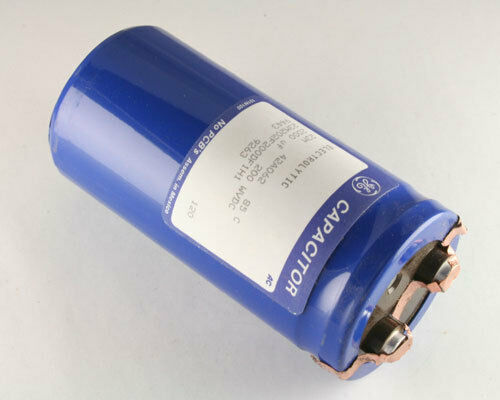 Ge 4400uf 200v large can aluminum electrolytic capacitor mfd dc ebay new ge 4400uf 200v large can aluminum electrolytic capacitor mfd dc sciox Image collections