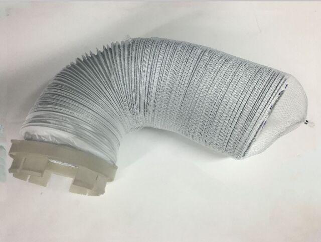 dryer vent hose connector