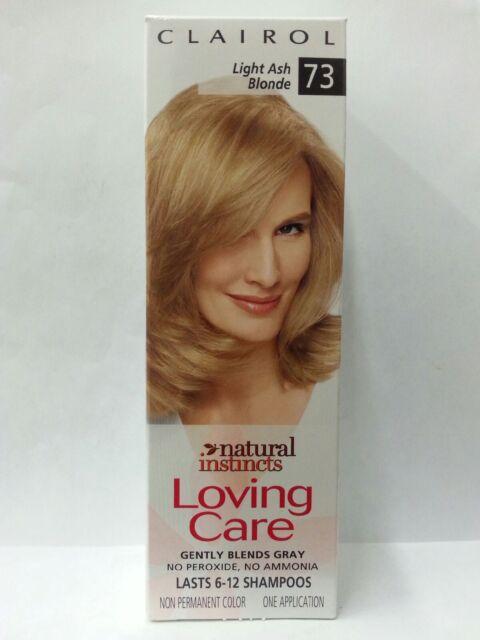 2 Clairol Loving Care Light Ash Blonde 73 Natural Instincts Hair