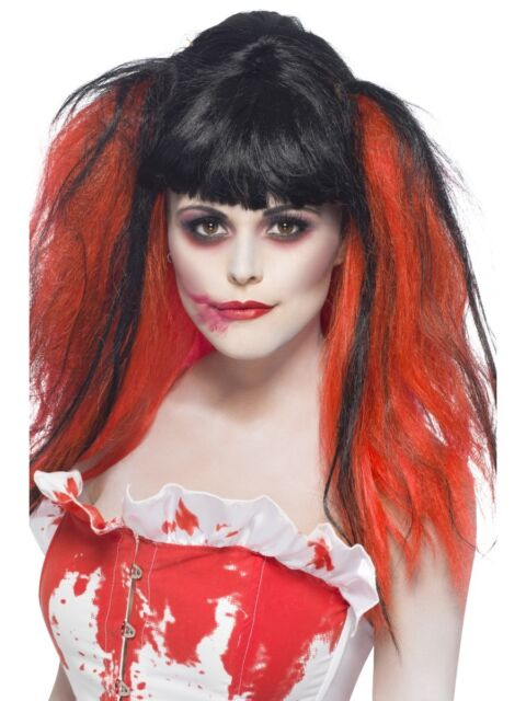 Blood Drip Wig Halloween Fancy Dress Costume Accessory P9633