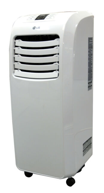 LG LP0711WNR - 7,000 BTU 110V Portable A/C: Remote & Window Vent Kit Included