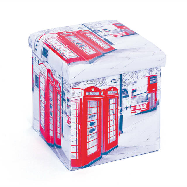Faltbox London mit Deckel 38 x 38 x 38cm
