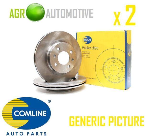 COMLINE FRONT BRAKE DISCS SET BRAKING DISCS PAIR OE REPLACEMENT ADC1038V