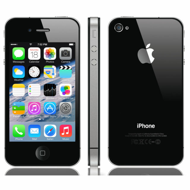 Smartphone Apple iPhone 4s - 16 Go - Noir - Téléphone Portable Débloqué