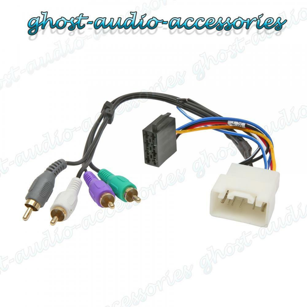 Lexus Es300 Active Car Stereo Radio ISO Wiring Harness Adaptor Loom ...