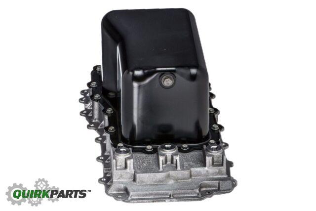 engine oil pan mopar 4666153ac fits 07 11 jeep wrangler 3 8l v6 ebay. Black Bedroom Furniture Sets. Home Design Ideas