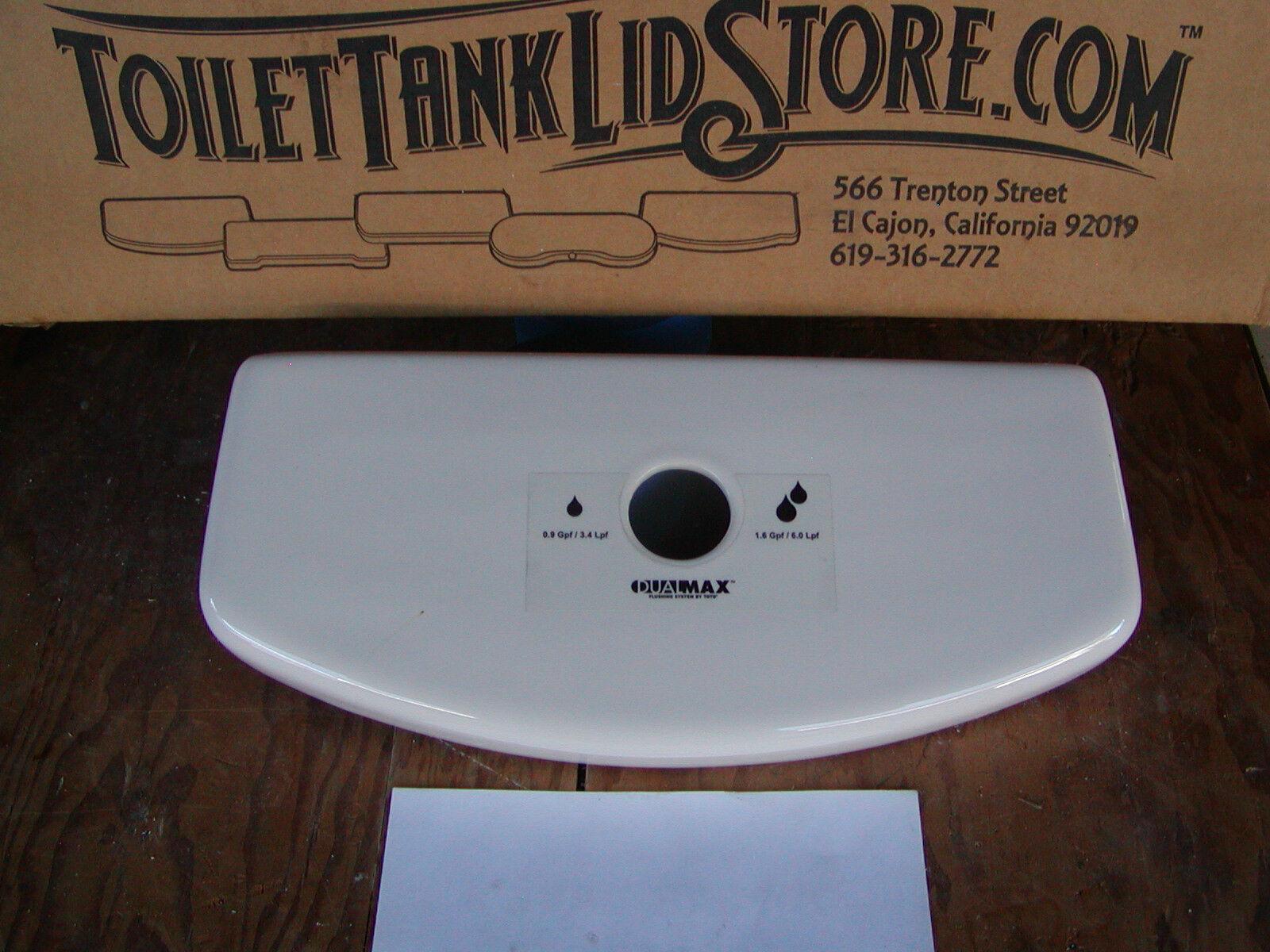 TOTO Dual Max ST416 Toilet Tank Lid for Top Flush Model Aquia Bone ...