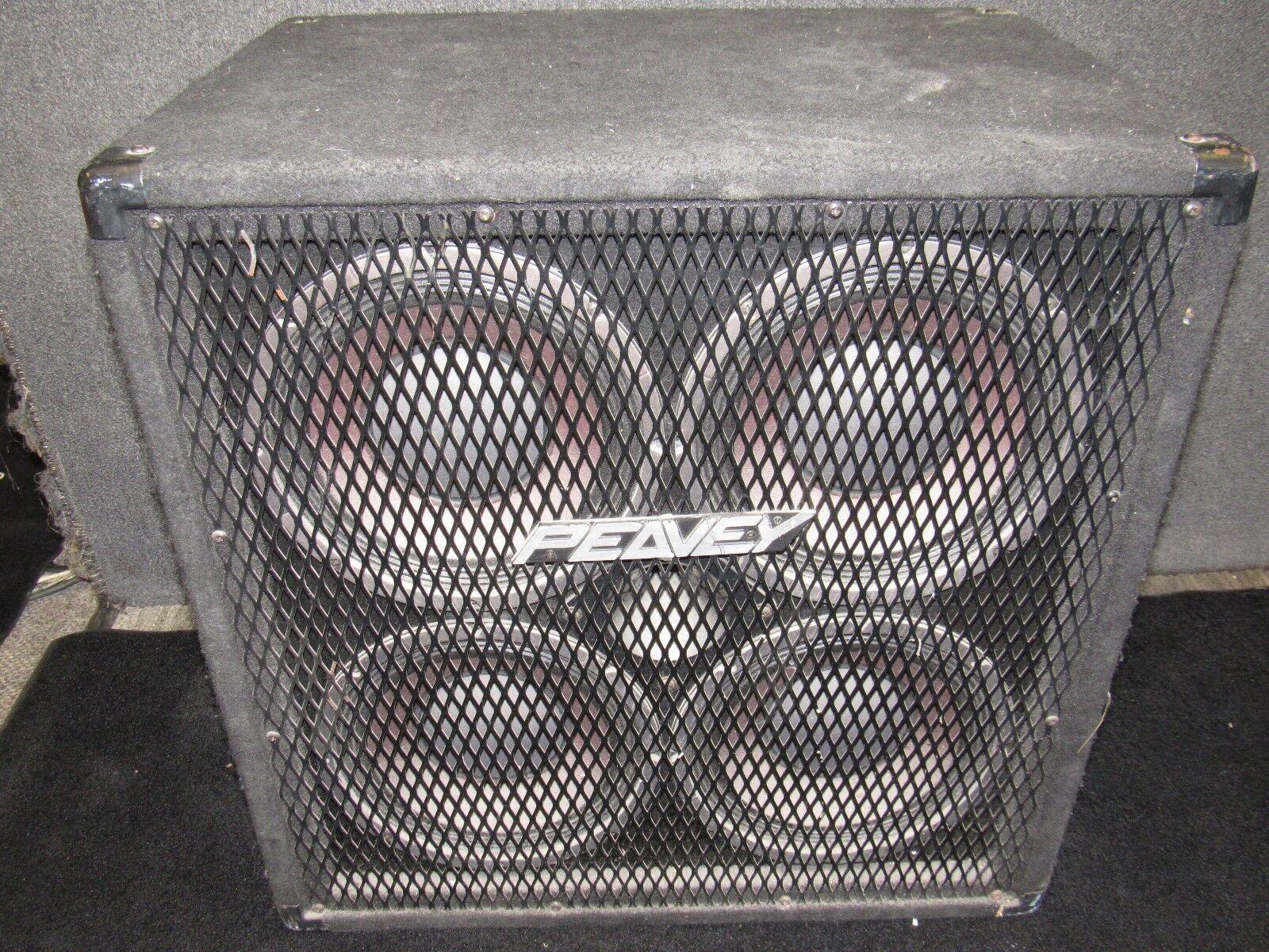 Peavey 410TX 8-ohm 700-watt Bass CAB Speaker Enclosure Cabinet 410 ...