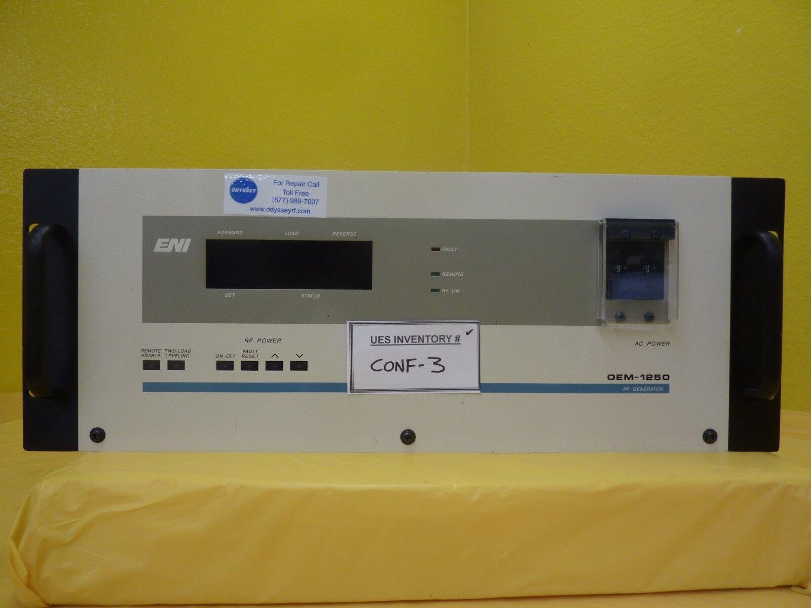 Eni Oem 1250 RF Generator Power Supply 1250w