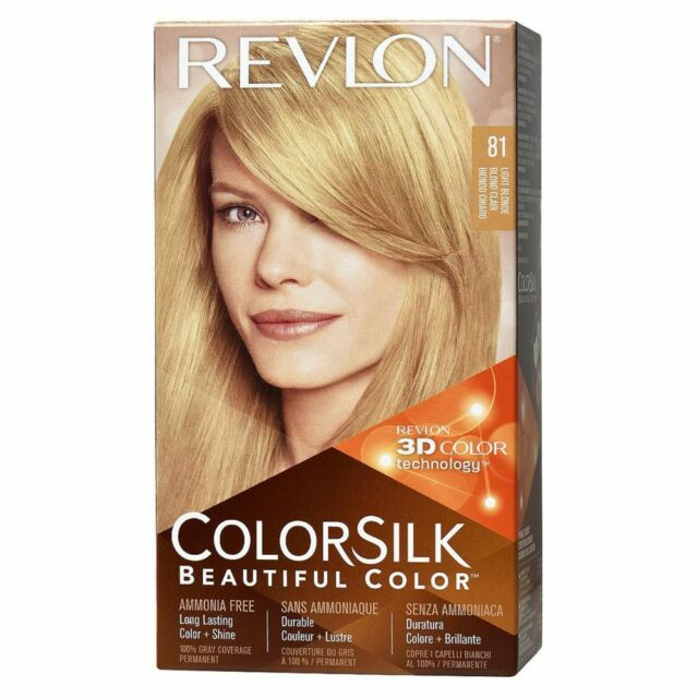 Revlon Colorsilk Color Light Blonde 81 1 Ea Ebay