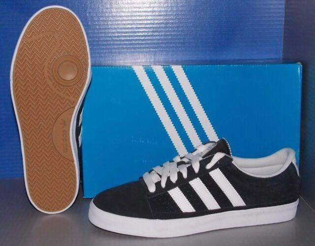 Adidas rayado g99787 uomini scarpe nero / bianco numero 13 di skateboard