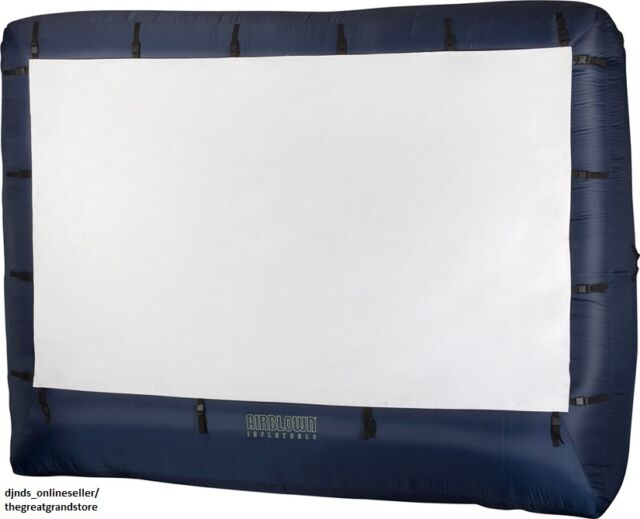 Inflatable Movie Screen Outdoor Large Projection Theater Pool ...