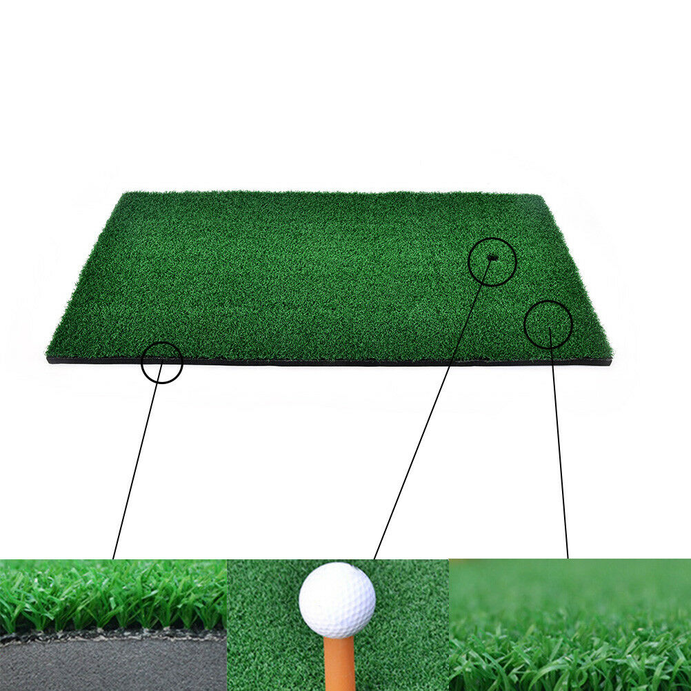 backyard golf mat residential training hitting pad practice rubber