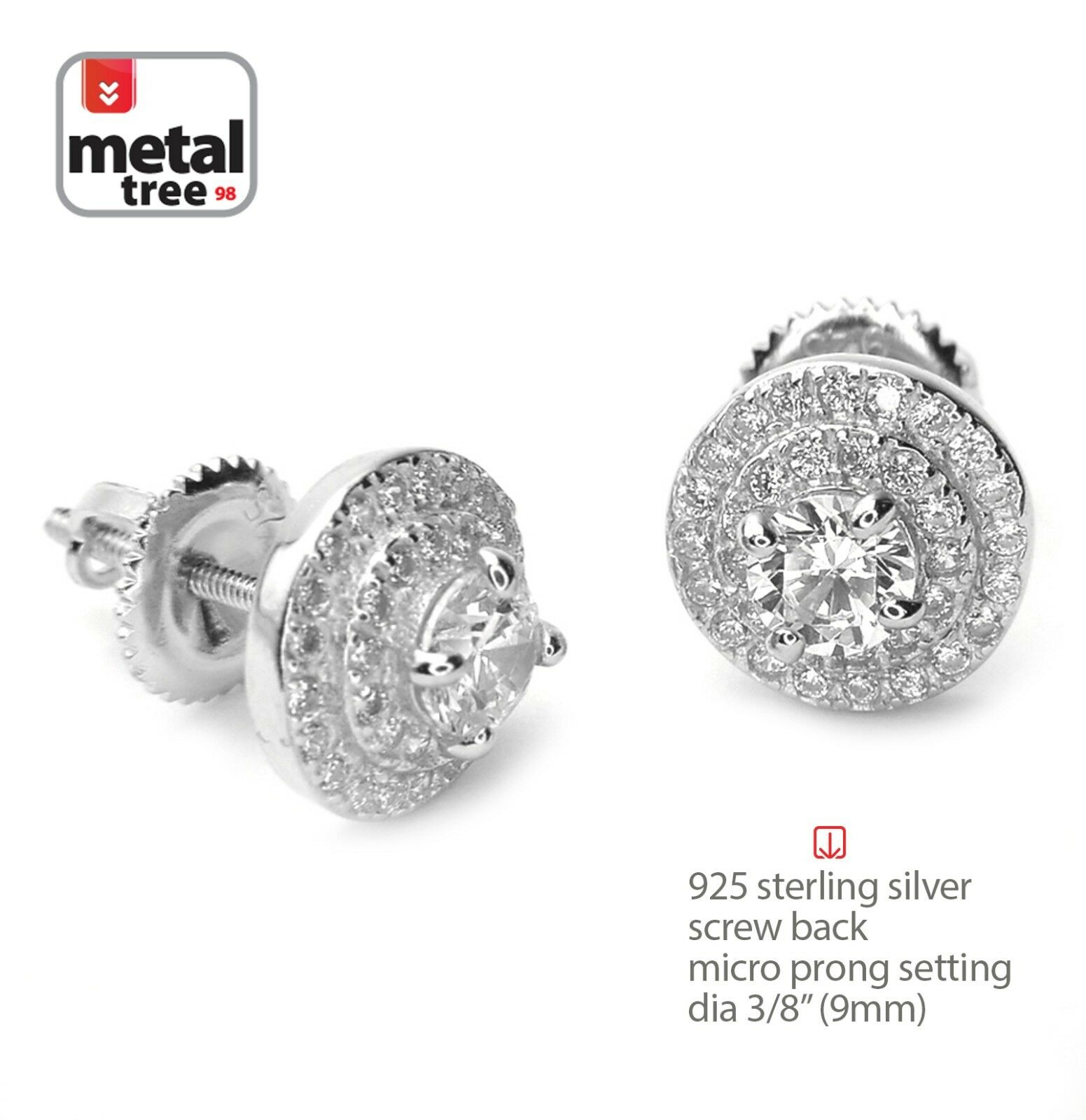 earrings cute real ksvhs stud for black diamond mens men guys jewellery