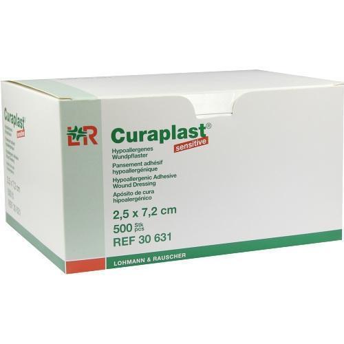CURAPLAST Strips sensitiv 2,5x7,2 cm 500 St PZN 1240427