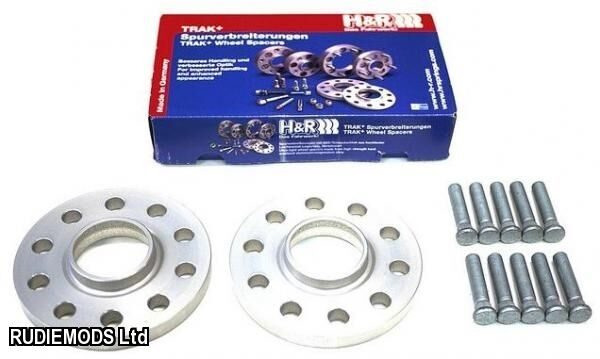 H&R Wheel Spacers Ford Focus RS Mk2 15mm Car Hubcentric Wheel Spacers