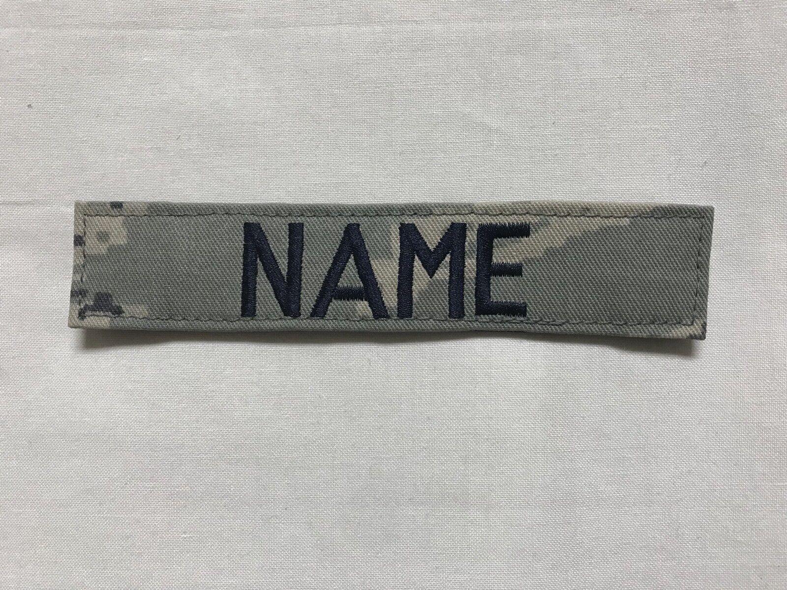 Abu Digital Tiger Stripe Name Tape 5 Inch Length