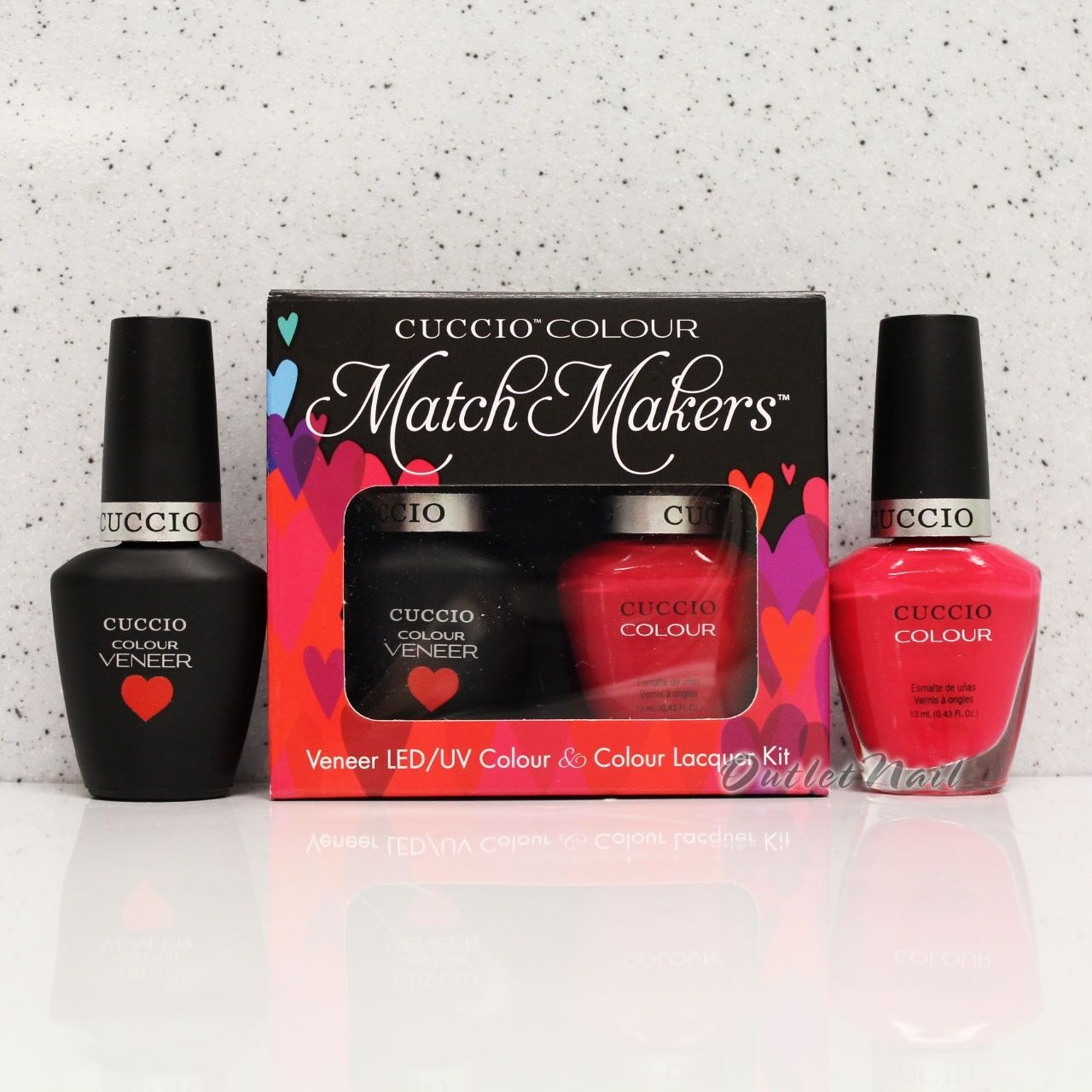 Cuccio Veneer Match Makers - Costa Rican Sunset 6018 GEL & Nail ...