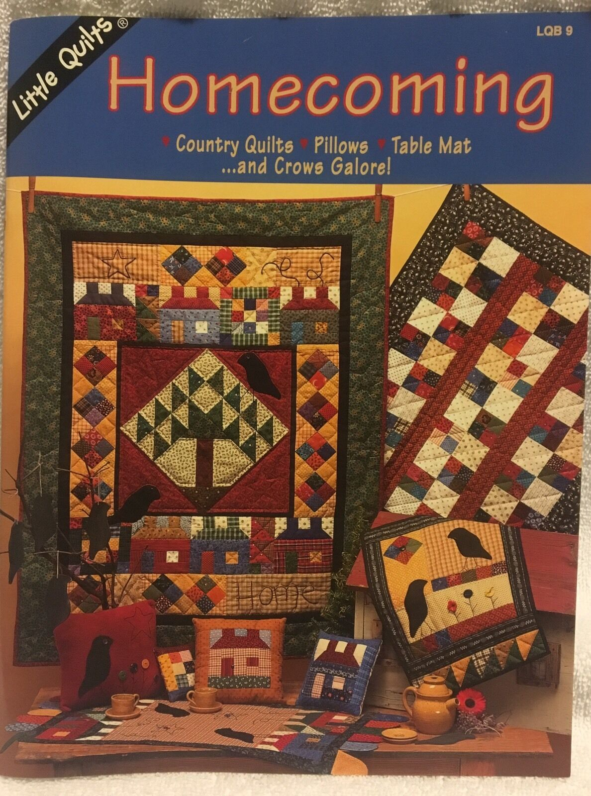 Homecoming Pieced & Applique Quilt Pattern Booklet by Little ... : little quilts - Adamdwight.com