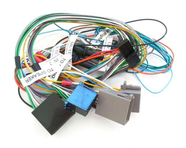 genuine parrot mki series wiring loom power harness for mki9200 rh ebay com parrot mki9000 wiring Parrot MKi9100