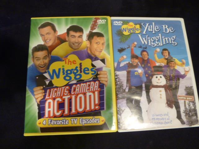 The wiggles lights camera action dvd 2005 ebay sciox Choice Image