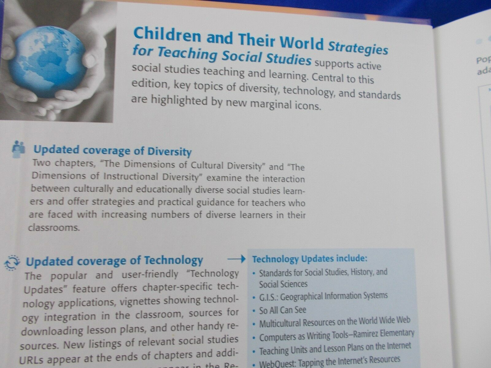 Children And Their World Strategies For Teaching Social Studies By