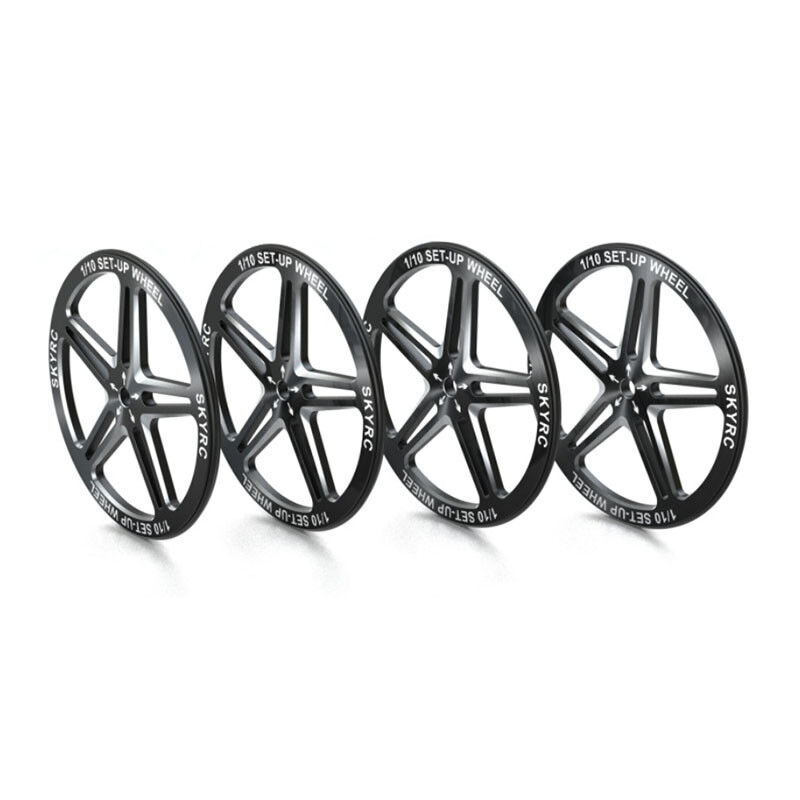 Skyrc Setup Wheels For 1 10 Rc Touring Car Buggy Cnc Aluminum With