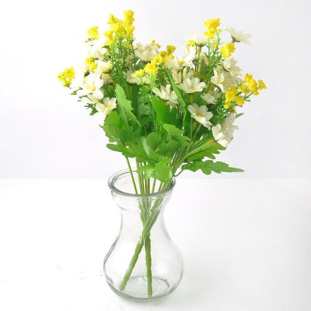 Sales fashion artificial fake silk daisy flower bouquet home wedding picture 10 of 10 mightylinksfo