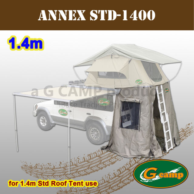 G CAMP ANNEX FOR 1.4M STD ROOF TOP TENT CAMPER TRAILER 4WD 4X4 CAMPING RACK FREE