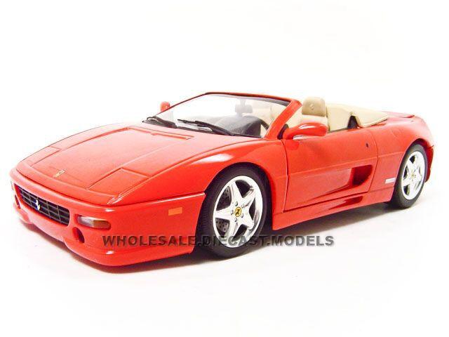 Ferrari F355 Spider Year 1994 Red 1 18 Hotwheels | eBay