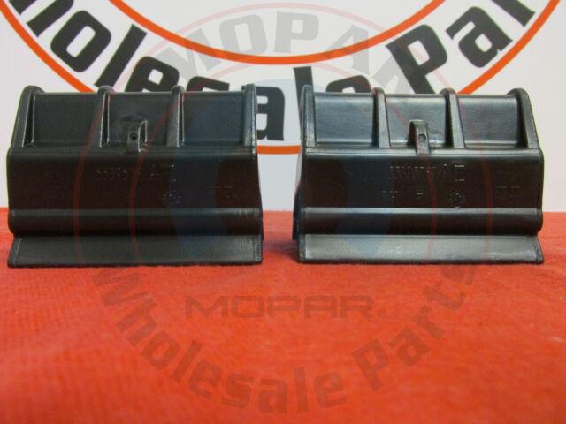 Delicieux JEEP WRANGLER JK LEFT U0026 RIGHT Rear Window Soft Top Retainers NEW OEM MOPAR