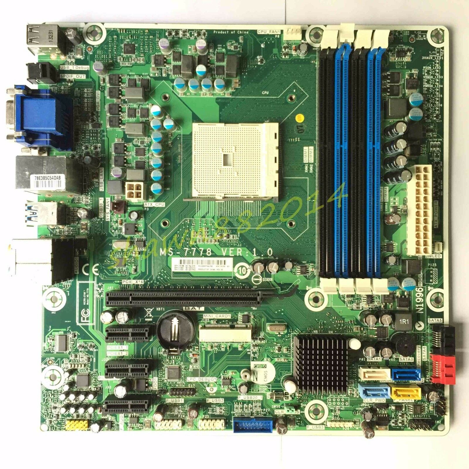 s l1600 hp ms 7778 ver 1 0 socket fm2 motherboard 716188 001 ebay MSI MS 7778 Bios at gsmportal.co